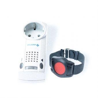 ELDAT Easywave Funktechnik Pflegeruf-Set mit Funk-Armbandsender